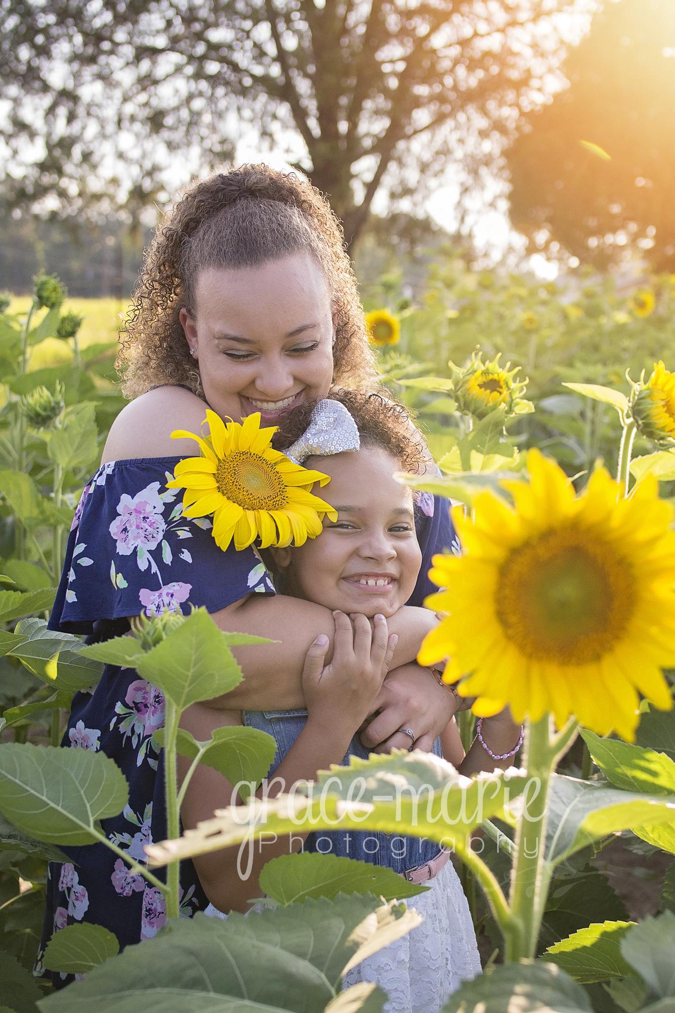 Kayla & Ashley Sunflowers_99
